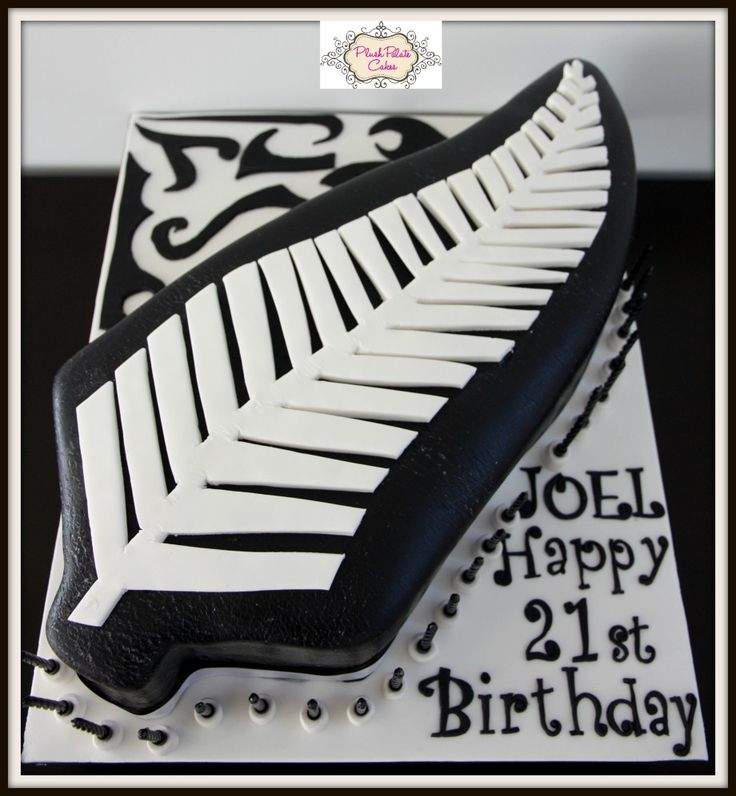 New Zealand Fern Cake - www.plushpalatecakes.com.au/cake-creations/birthday-special-occasion-cakes