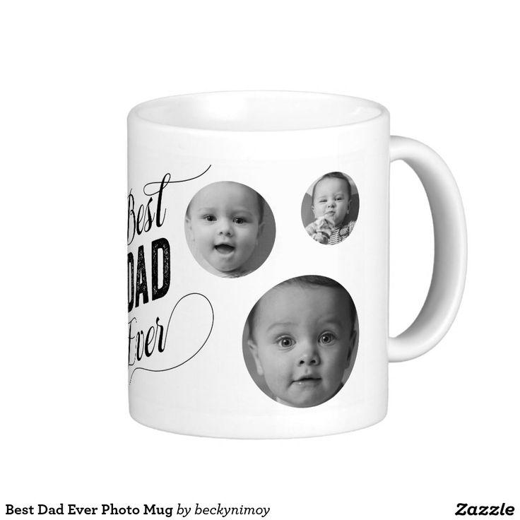 Best Dad Ever Photo Mug