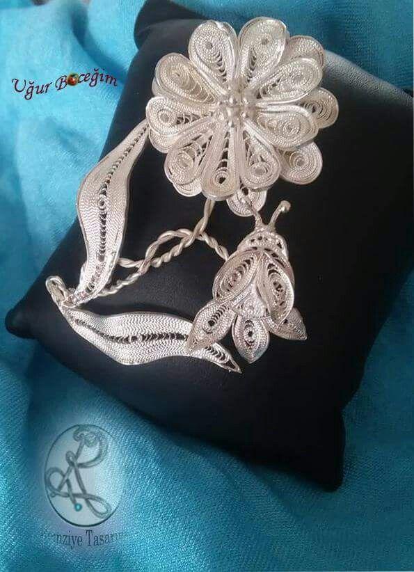 Telkari#El yapımi#handmade#kişiye özel#tasarım#moda#hautecoutere#gümüş#silver