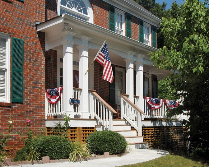 36 best images about traditional front porch on pinterest for Georgia front porch