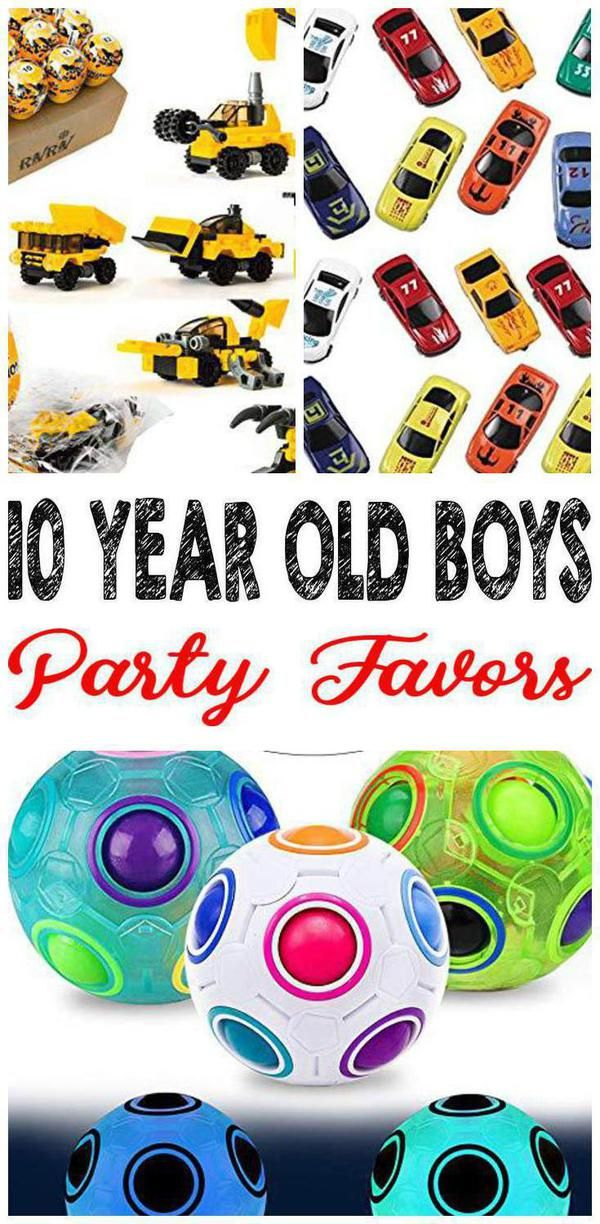 Best 10 Year Old Boys Party Favor Ideas Boy Party Favors 10 Year Old Boy Boys Birthday Party Favors
