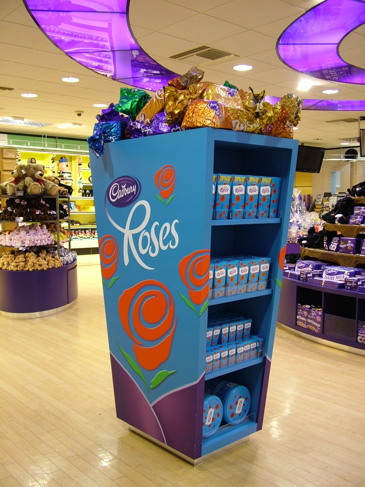 Cadbury's World product dispenser units