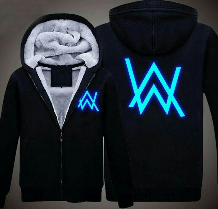 Marshmello Luminous Concert Hoodie Edm DJ Music Sweatshirt Jacket Pullover Tops