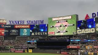 New York Yankees 2017 Starting Lineups (Subway Series [vs. New York Mets])