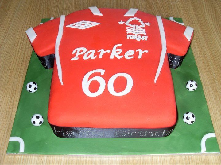 Decorating Ideas > Nottingham Forest Shirt Cake  Nottingham Forest  ~ 224458_Birthday Party Ideas Nottingham