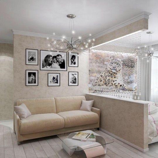 Получится ли зонировать комнату в 15 кв.м. на спальню и гостиную? | Идеи для ремонта