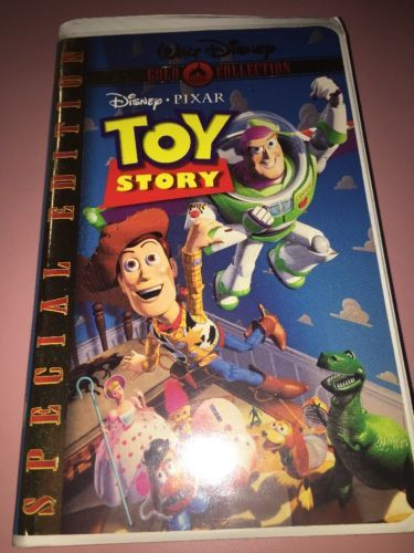 TOY STORY SPECIAL EDITION GOLD DISNEY VHS