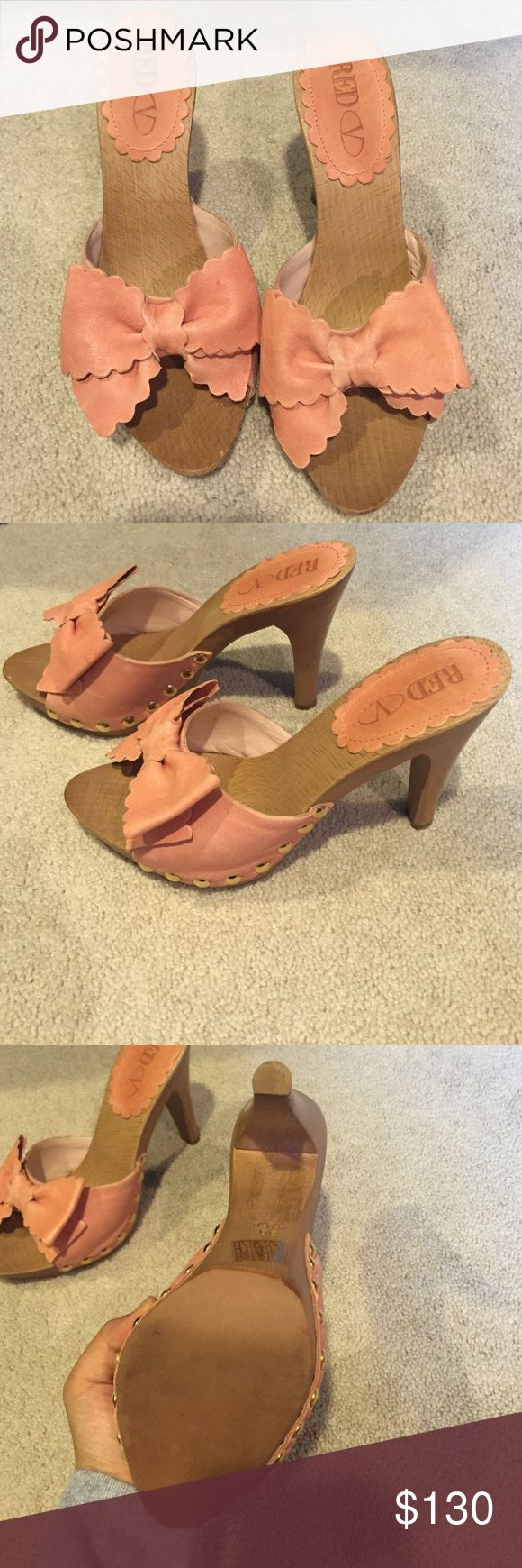 RED Valentino heels Never been used. New without tags RED Valentino Shoes Heels