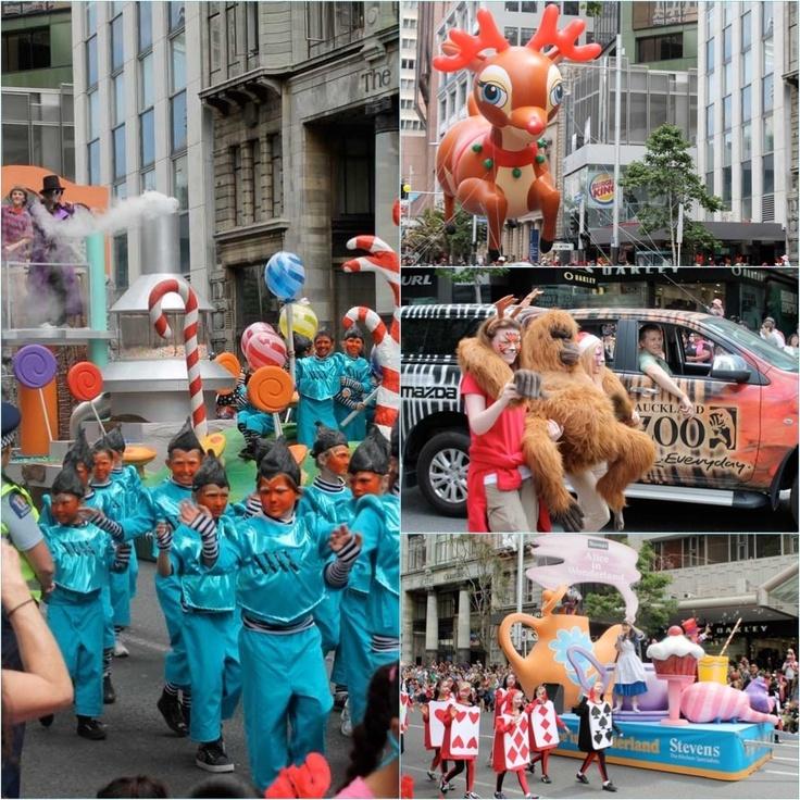 New Zealand, Auckland, travel, photography, Santa Parade, Fashion blog, consejos de moda para mujeres