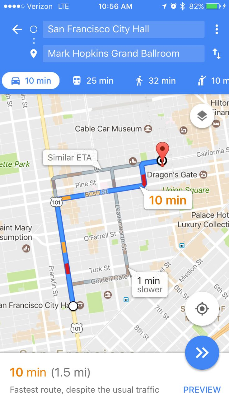 City hall to Mark Hopkins  Married at city hall, go take pics. Go back to hotel (?) Union Square  Then Wedding dinner at Top of the Mark