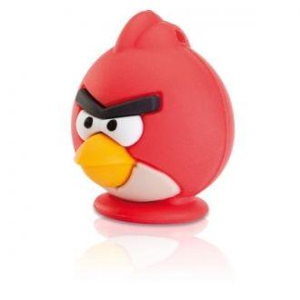 Emtec Pamięć USB A100 Pendrive 8GB Red Bird Pendrive marki Emtec o pojemności 8GB z licencjonowanej serii Angry Birds. Wykonany z miękkiego, przyjemnego w dotyku tworzywa. Model: Czerwony Ptak.
