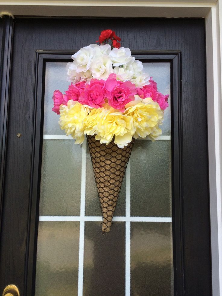 32 best Summer Wreaths for Front Door images on Pinterest ...