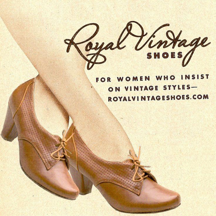 Vintage Style Shoes for Women - Royal Vintage Shoes - royalvintageshoes.com