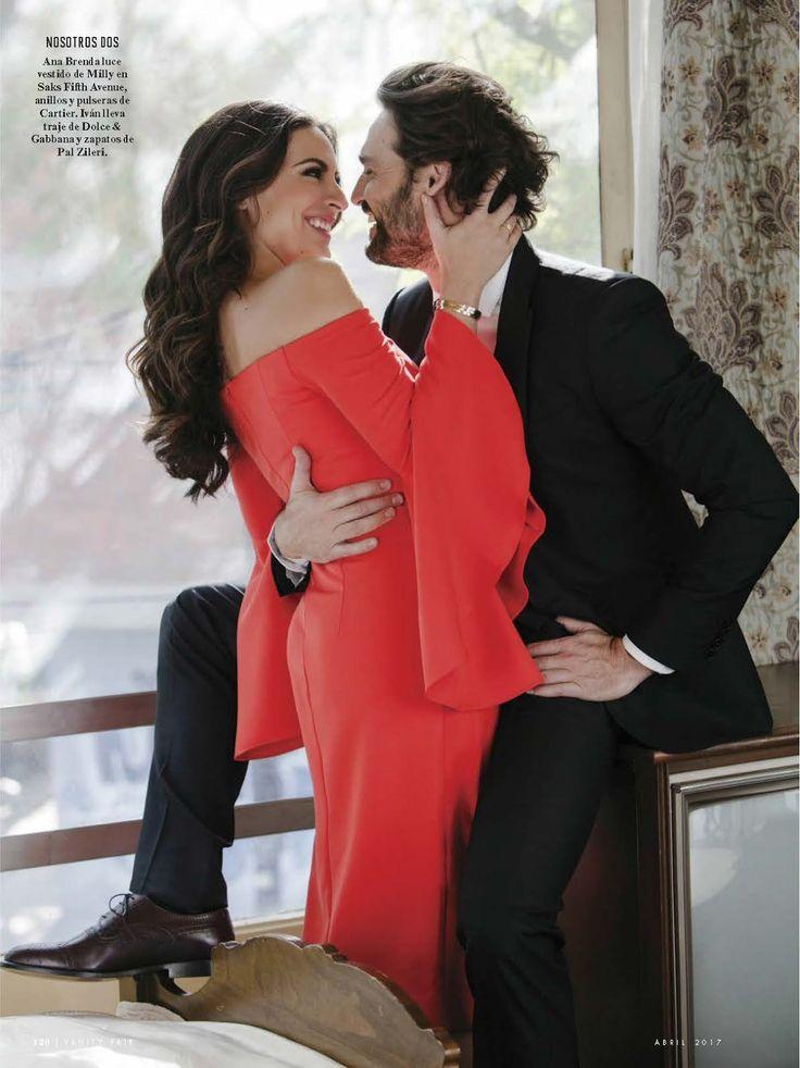 Iván Sánchez y Ana Brenda para Vanity Fair México
