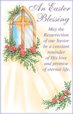 Image result for Easter Blessings from the one who rose frome the grave