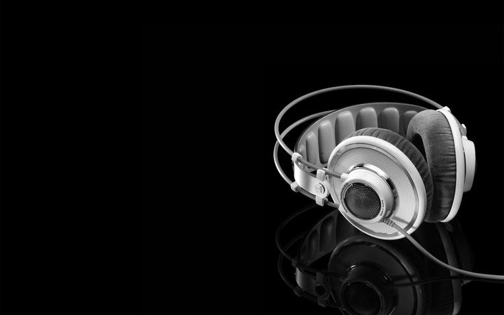 Music Headphones, White
