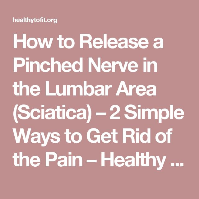 25 Best Ideas About Pinched Nerves On Pinterest Nerves