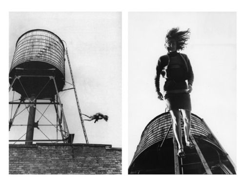 trisha brown, roof piece, 1973