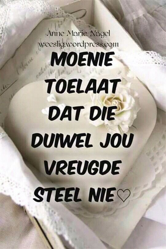 Moenie...#Afrikaans #Don't