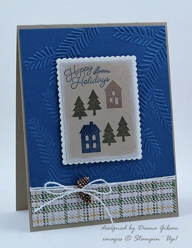 Rustic Christmas by Diana Gibson - Cards and Paper Crafts at Splitcoaststampers