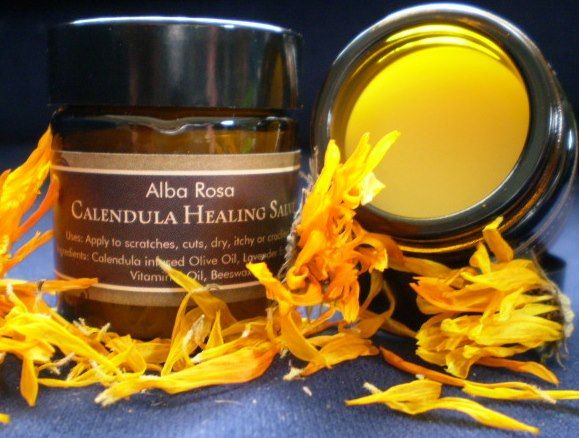 Calendula Healing Salve is a simple but effective addition to any medicine cabinet.