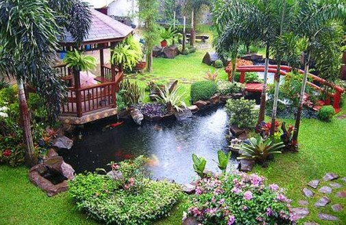 I want to be here: Gardens Ideas, Gardens Ponds, Water Gardens, Backyard Ponds, Water Features, Koi Ponds, Tropical Gardens, Landscape Ideas, Watergarden
