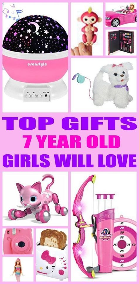 Kids Would Love A Gift From This Ultimate Guide Find The Best Toys And Non Toy Gifts Perfect For 7 Year Old Girl Birthdays