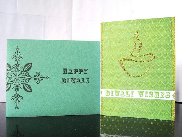 #347 – Diwali Cards | Experiments With Card Making Etc