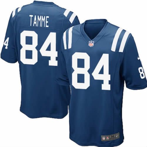 nike jacob tamme jersey indianapolis colts 84 youth blue limited nfl jersey sale .