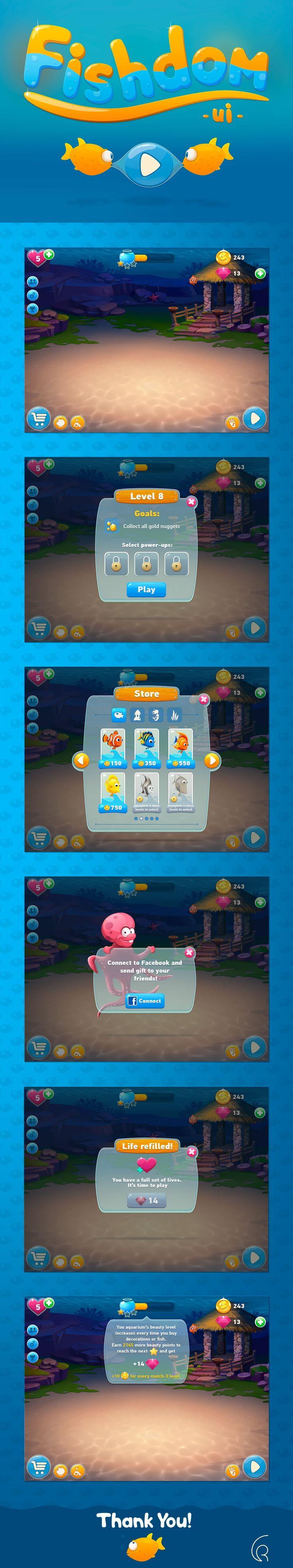 game art, UI game