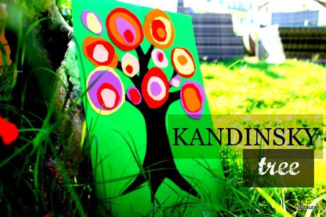 Oggi faremo un'attività adattaa grandi e piccini, un viaggio nell'astrattismo di Kandisnky, un lavoro semplice, ma di grande effetto.  Wassily Kandinsky (1866-1944), pittore e artista che più di ogni altro ha saputo tradurre in pittura la rivoluzione che ruota attorno alla linea,