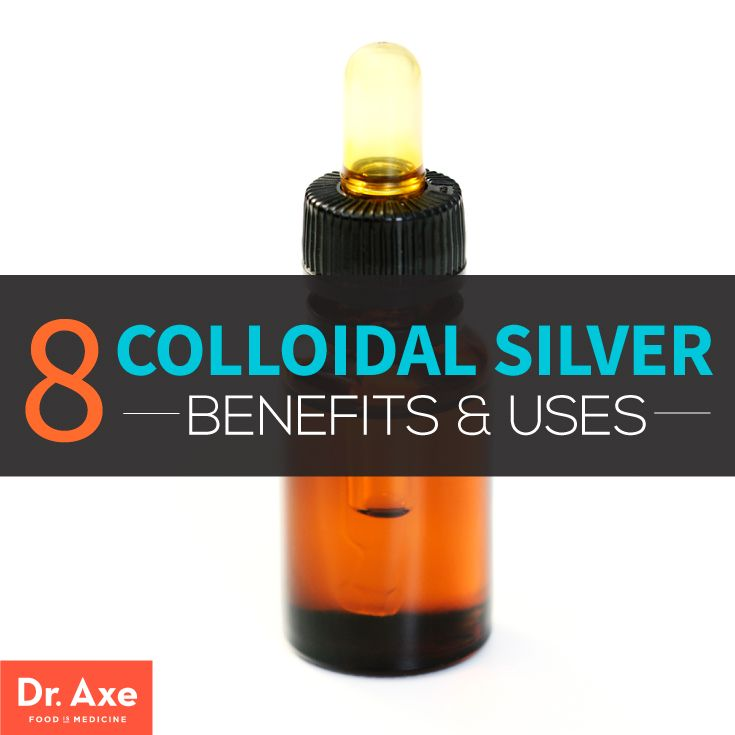 8 Benefits and Uses of Colloidal Silver  http://www.draxe.com #health #holistic #natural