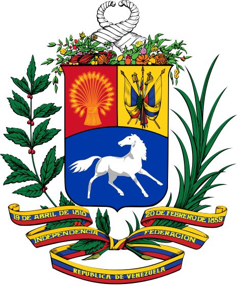 Coat of arms of Venezuela (1954-2006).svg