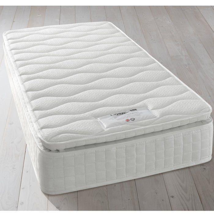 800 Pocket Pillow Top Memory Soft