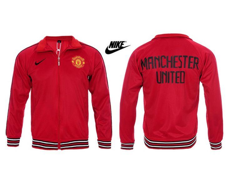 Manchester United Giacca Sportiva Da Rosso