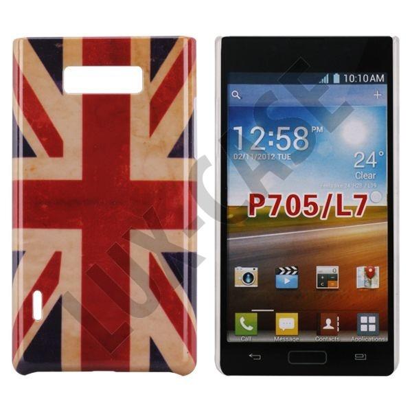 StoryLine (UK Flag) LG Optimus L7 Deksel