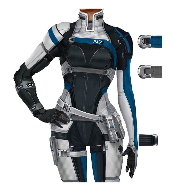 Cora's Armor Concept from Mass Effect: Andromeda