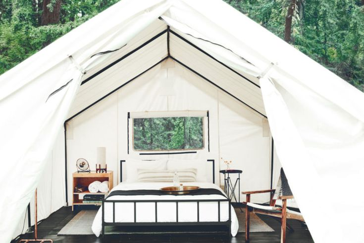 No Sleeping Bags Required: Glamping At AutoCamp Russian River