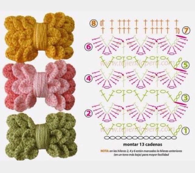 Ponto Preso1: Croche - um LAÇO diferenciado e interessante ...