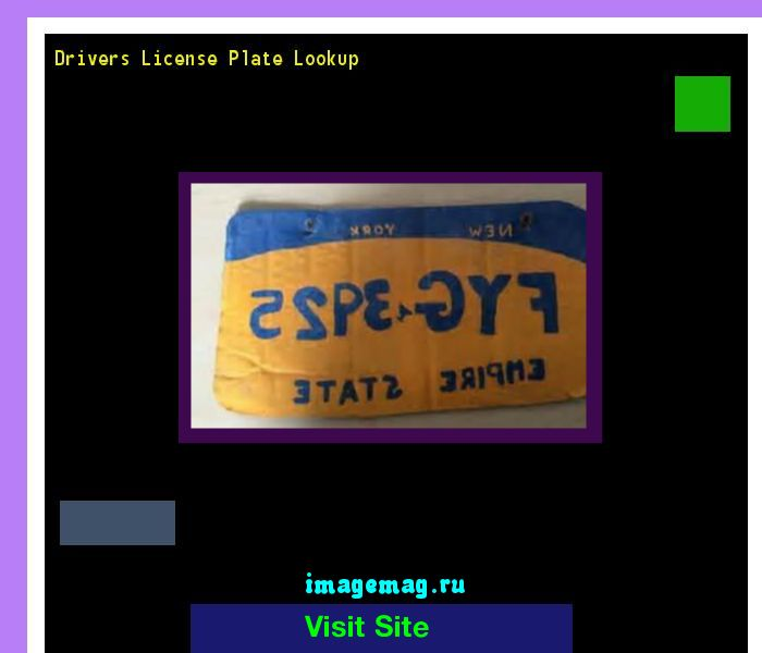 Drivers license plate lookup 144607 - The Best Image Search