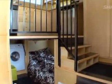 TINY VIDEO:  Twelve Cubed, a company that designs and manufactures 10x10x10-foot and 12x12x12-foot homes.