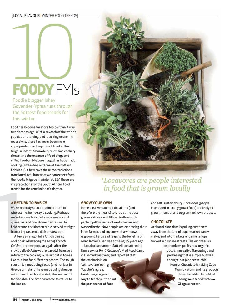 Curated Winter food trends 2012 from frugal to pickles!