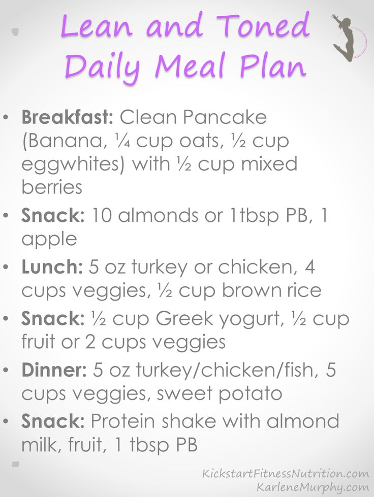 Clean Eating Daily Meal Plan #eatclean #healthy