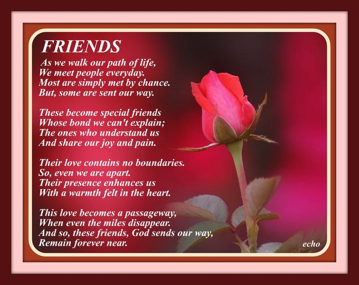 Friendship Poems | friendship poems offers poetry exploring the infinite range of ...