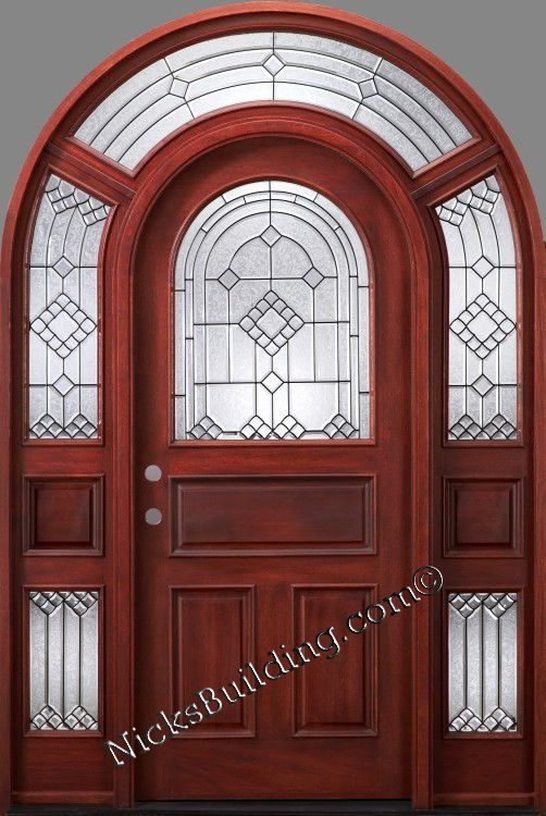 The Great Looking Arched Door On Our Profile Can Be On Your House For Under