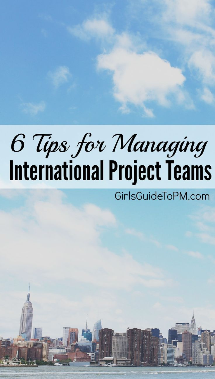 Do you manage an international team at work? Here are 6 great tips for effective team collaboration with an overseas team.