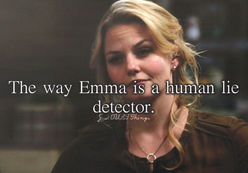 The way Emma is a human lie detector. - Just OUAT things<<<<<< CANDOR TRAINED IM TELLING YOU!!!!!!!!!!!!! XD divergent and OUAT
