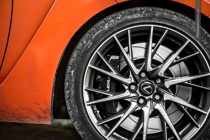 19-inch Lexus RC-F alloy wheel. #lexus #rc-f #wheel see more pics @ http://premiummoto.pl