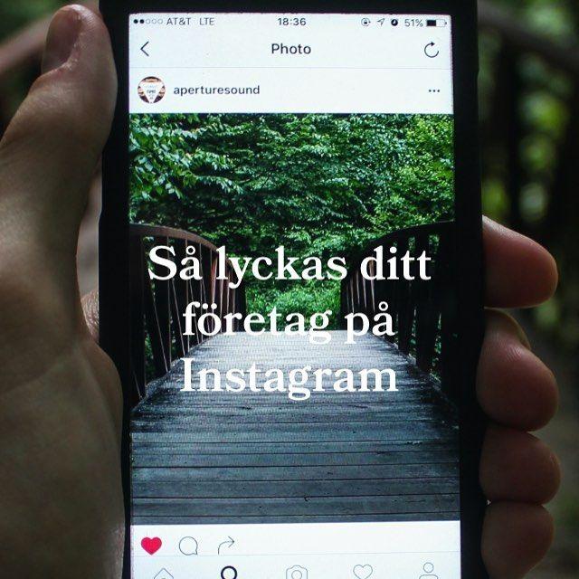 Instagram är perfekt för den dagliga marknadsföringen. Här kan företag visa upp produkter, tjänster, genomföra rekryteringskampanjer, annonsera och inte minst engagera! Mer om hur du lyckas med ditt arbete på Instagram kan du läsa om i vårt senaste blogginlägg på cordovan.se
