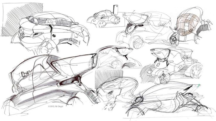 Nir Siegel sketches